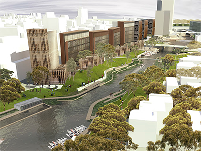 Artist Impression – River City