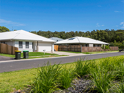 Two single storey houses in Coffs Harbour