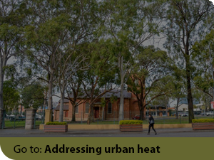 Addressing urban heat Performance Indicator