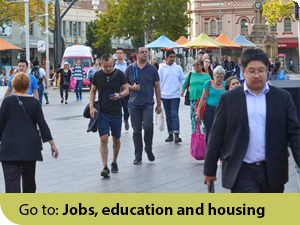 Link: Jobs, education and housing Performance Indicator