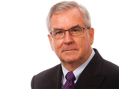 Head shot of GSC Commissioner West Sean O'Toole