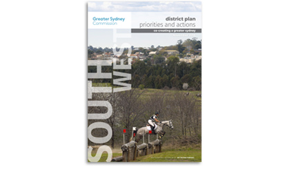 Draft South West District Plan cover